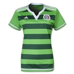 Mexico 2015 Women's World Cup Home Soccer Jersey