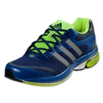 adidas Supernova Glide 5 Running Shoe (Blue Beauty/Metallic Silver/Electricity)