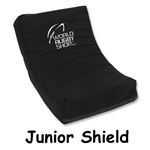 Junior Rugby Shield (Black)