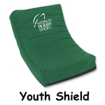 Youth Rugby Shield (Dark Green)