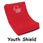 Youth Rugby Shield (Red)