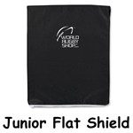 Junior Flat Shield (Black)