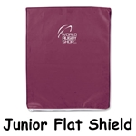 Junior Flat Shield (Maroon)