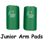 Junior Rugby Arm Pads (Green)
