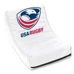 USA Rugby Medium Scrimmage Shield (White)