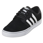 adidas Seeley Leisure Shoe (Black/White/Mid Grey)