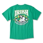 Irish Soccer Gaelic T-Shirt (Green)