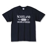 Scotland 1823 Highlanders T-Shirt (Navy)