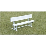 Kwik Goal 6' Bench w/ Back