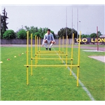 Goal Sporting Goods Outdoor Agility Hurdles, Set of 8 (Yellow)