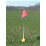 Goal Sporting Goods Collegiate Marker with Indoor Base