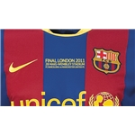 FCB UCL 2011 Final Embroidery