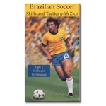 Brazilian Soccer Skills and Tactics-3 Video Collection