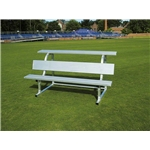 Pevo 15' Team Bench with Back and Top Seat