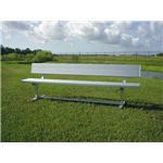 Pevo 7.5' Team Bench with Back