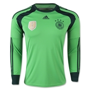 Germany 14/15 Keeper Soccer Jersey (4 Stars)