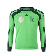 Germany 14/15 Youth Keeper Soccer Jersey (4 Stars)