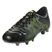 adidas X 15.1 FG/AG Leather (Black)