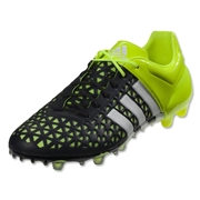 adidas ACE 15.1 FG/AG (Black/White/Solar Yellow)
