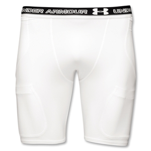 UA Turf Gear 5-Pocket Girdle (White)