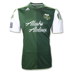 Portland Timbers 2012 Authentic Home Soccer Jersey