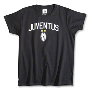 Juventus Women's T-Shirt (Black)
