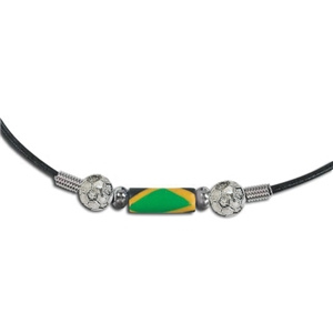 Fimo Necklace-Jamaica