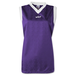 Vici Women's Sleeveless Turin Soccer Jersey (Purple)