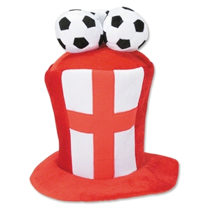 England 3 Soccer Ball Plush Hat