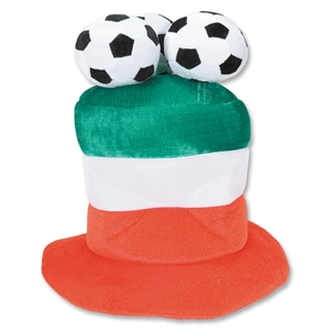 Italy 3 Soccer Ball Plush Hat