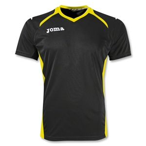 Joma Champion II Jersey (Blk/Yellow)