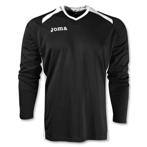 Joma Champion II Long Sleeve Jersey (Blk/Wht)