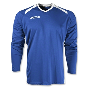 Joma Champion II Long Sleeve Jersey (Roy/Wht)