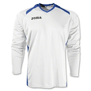 Joma Champion II Long Sleeve Jersey (Wh/Ro)