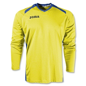 Joma Champion II Long Sleeve Jersey (Yl/Ro)