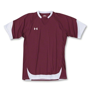 Under Armour Emulate Soccer Jersey (Maroon/Wht)