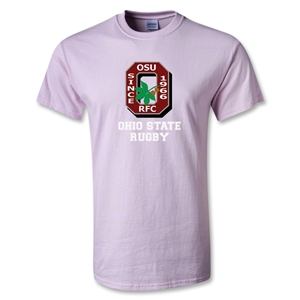 Ohio State Rugby T-Shirt (Pink)