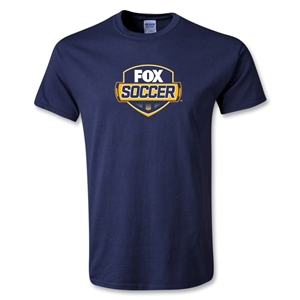 Fox Soccer T-Shirt (Navy)