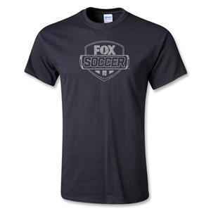 Fox Soccer Distressed Youth T-Shirt (Black)
