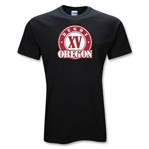 Rugby Oregon XV's T-Shirt (Black)