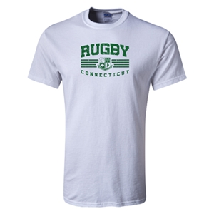 Rugby Connecticut Statement T-Shirt (White)