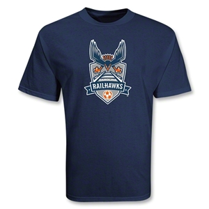 Carolina Railhawks Soccer T-Shirt (Navy)