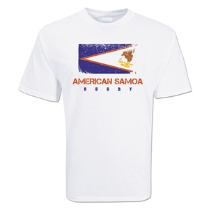 American Samoa Country Rugby Flag T-Shirt