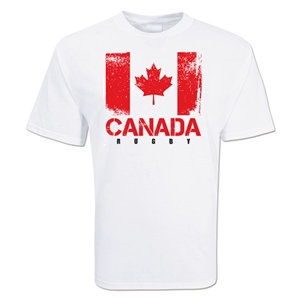 Canada Country Rugby Flag T-Shirt