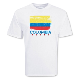 Colombia Country Rugby Flag T-Shirt