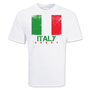 Italy Country Rugby Flag T-Shirt