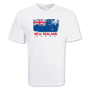 New Zealand Country Rugby Flag T-Shirt