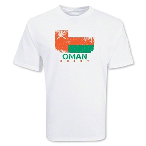 Oman Country Rugby Flag T-Shirt