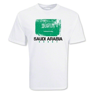 Saudi Arabia Country Rugby Flag T-Shirt