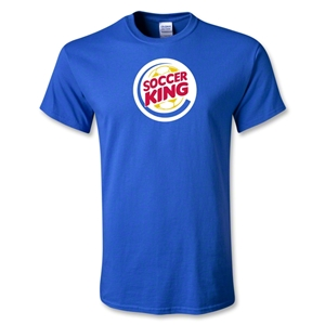 Utopia Soccer King T-Shirt (Royal)